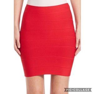 🔥 Red BCBGMaxazria Bandage Skirt!!